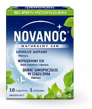 Lek Novanoc naturalny Sen 16 tabl.