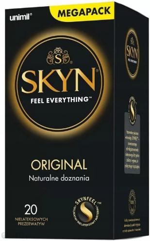 Unimil Skyn Original Nielateksowe prezerwatywy