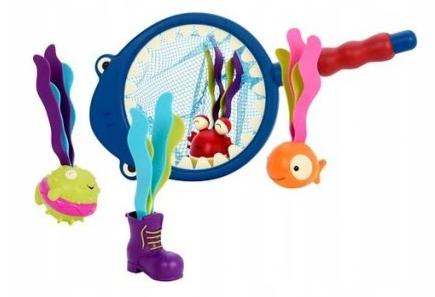 Zabawka do kąpieli B.Toys Zestaw Do Łowienia Morskich Cudaków - Rekin