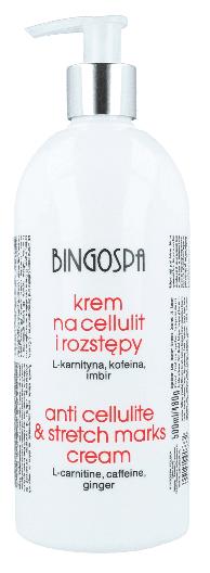 Krem BingoSpa na cellulit i rozstępy karnityna, kofeina, imbir 500ml