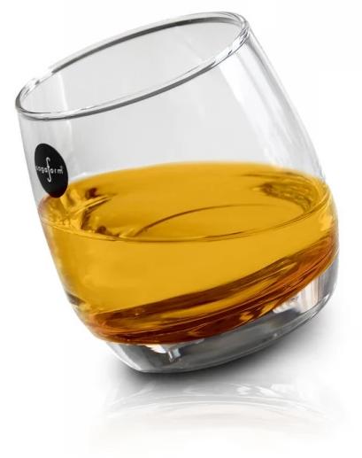 Szklanki do whisky bujające się 6 szt.