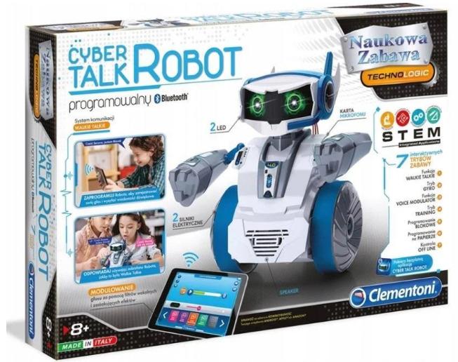 Robot Clementoni Mówiący Cyber Robot