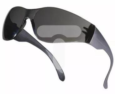 Okulary Delta Plus Ochronne z Poliwęglanu Przydymione UV400 Brava2 Smoke BRAV2FU