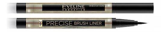 Eyeliner w pisaku Eveline Precise Brush Liner Czarny