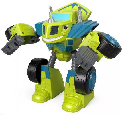 Robot Fisher-Price Blaze Pojazd Zielony