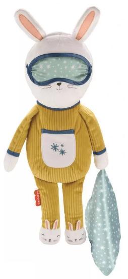 Maskotka pluszak dla dzieci Fisher-Price Króliczek do zasypiania GMN58