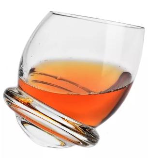 Szklanki Krosno Bujane do whisky Roly-Poly 6x200ml