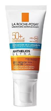 La Roche-Posay Anthelios Ultra krem do twarzy i okolic oczu barwiący BB SPF50+ 50ml