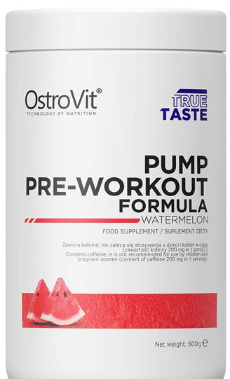 Przedtreningówka Ostrovit Pump Pre-Workout Formula 500G