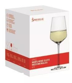 Kieliszki Style Zestaw 4 Kryształowych Kieliszków Do Białego Wina 440 Ml Spiegelau