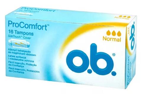 O.B Procomfort Normal 16 szt.