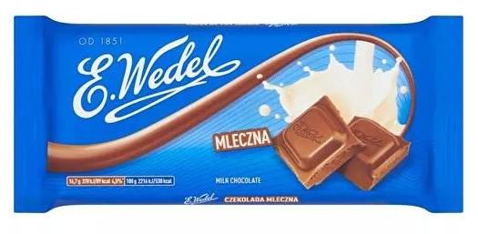 Czekolada E Wedel Mleczna 100G