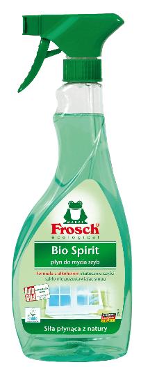 Płyn Frosch Glass Cleaner Bio Spirit Do Mycia Szyb 500Ml