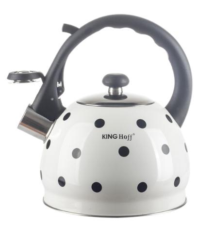Czajnik Kinghoff Emaliowany Z Gwizdkiem 2L