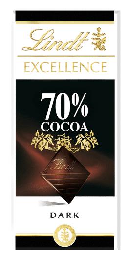 Czekolada Lindt Exellence 70% Cacao Gorzka 100G