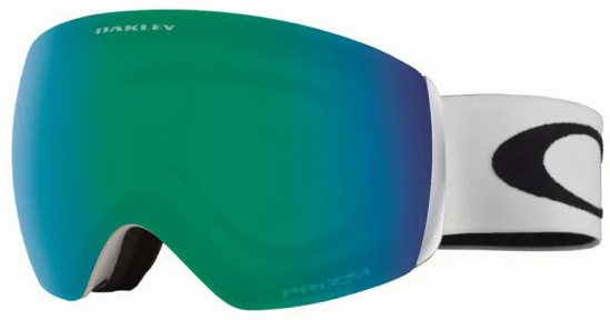 Gogle narciarskie Oakley Flight Deck Xm Lindsey Vonn Brick Wall Prizm Jade Oo7064 71