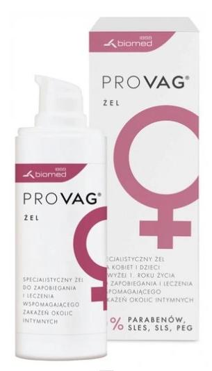 Płyn do higieny intymnej Provag Żel Dla Kobiet Do Ochrony I Pielęgnacji Okolic Intymnych 30g