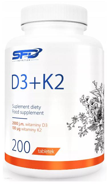 Witamina D3 SFD D3 K2 MK-7