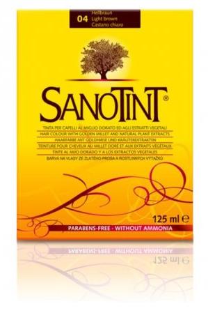 Farba do włosów bez amoniaku Sanotint