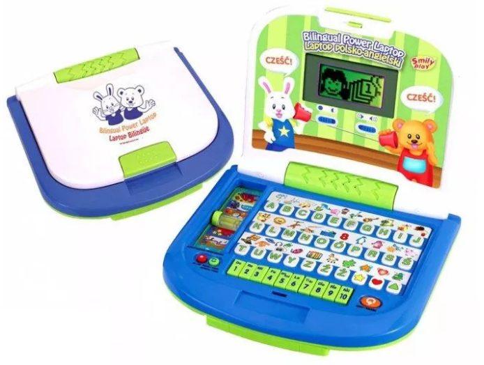 Laptop dla dzieci Smily Play Dwujęzyczny Podświetlany