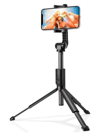 Kijek Spigen S540W Wireless Selfie Stick Tripod Black