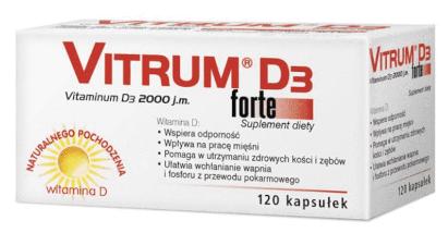 Witamina D3 Vitrum D3 Forte 2000 J.M.
