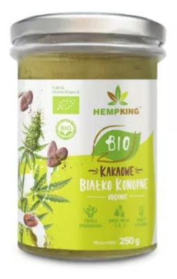 Białko konopne HempKing Bio – kakao